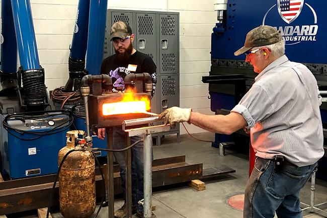 Lifelong Learning Blacksmith Class