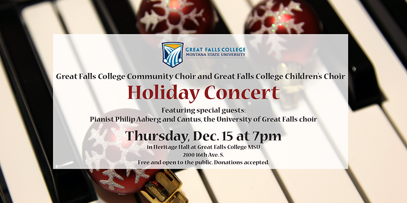 GFC MSU to present holiday concert with Philip Aaberg