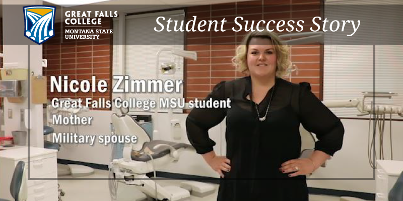 Nicole Zimmer: A Great Falls College MSU Success Story