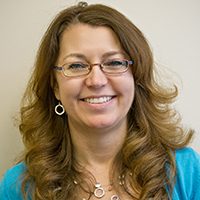 Photo of Leanne Frost - Director of Gen. Ed., Business, Technology, & Transfer Division