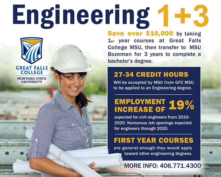 Engineering 1+3 Degree Offering