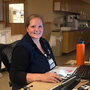 Healthcare hero: A profile of a Great Falls College MSU nursing graduate who is working on the front line.